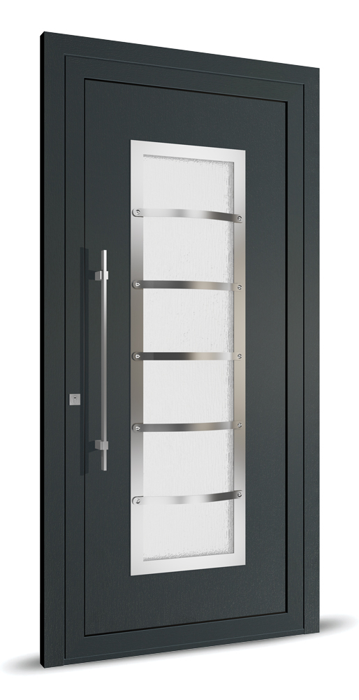 aluset romania Inox detailed door panels